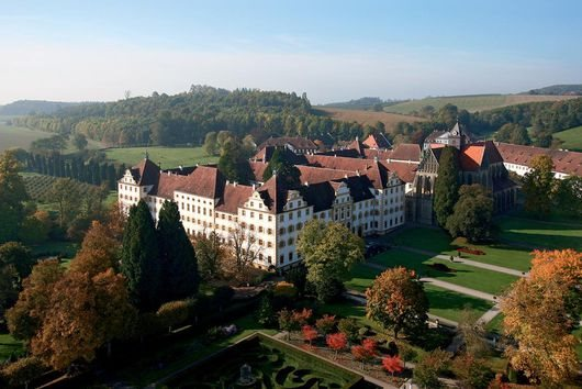 Die Klosteranlage, langjähriger Lustsitz des Sultans von Baden